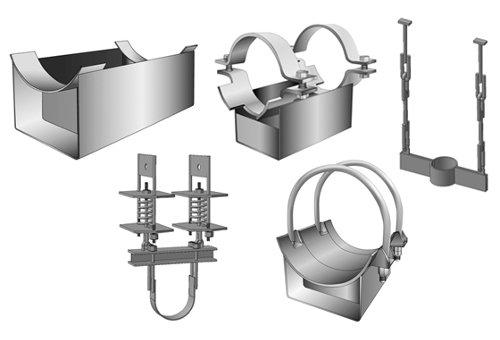 Опоры и подвески трубопроводов и тепловых сетей